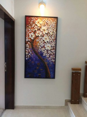 Modern Outburst Hand Framed Paintings by Artist - Mala Pathre