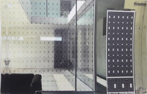 Modern Pattern Frosted Glass Film