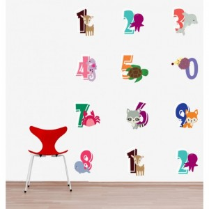 Alphabet Vinyl Wall Sticker