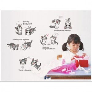 Lovely Baby Cat Sticker