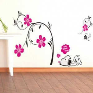 Rose Petals Wall Sticker