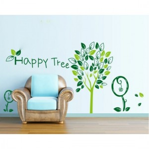 Happy Tree Wall Sticker