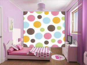 Seamless Pattern With Dots