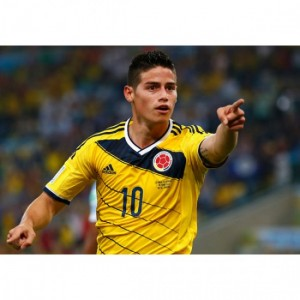 James Rodríguez Wall Poster