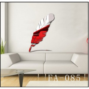 Feather Acrylic Sticker