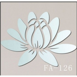 Flower Acrylic Sticker