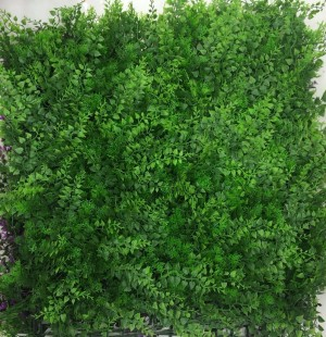 Green Wall Tiles for Vertical Garden 50 cm X 50 cm (2.78 Sq.ft) (3300 - A) (Pack of 3)