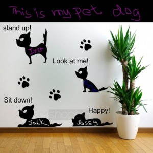 Pet Dog Wall Decal