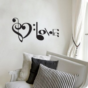 Custom Music Wall Decal