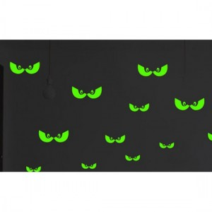 Glowing Eyes Night Decal