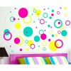 Circle and Bubble Wall Decal
