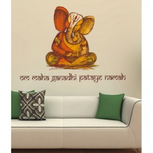 Ganesha Vinyl Sticker