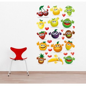 Happy Vegetables Sticker