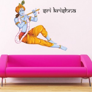 Sri Krishna Vinyl Sticker