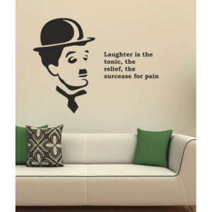 Charlie Chaplin Wall Sticker