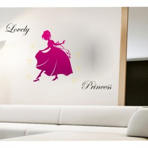 Lovely Princess Sticker
