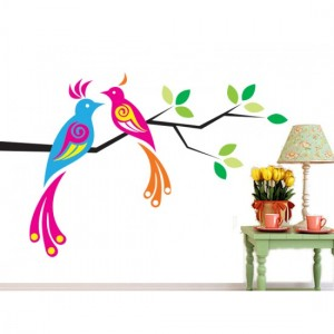 Colorful Love Birds