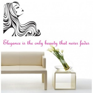 Elegant Lady Wall Sticker