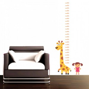 Girafee Height Chart