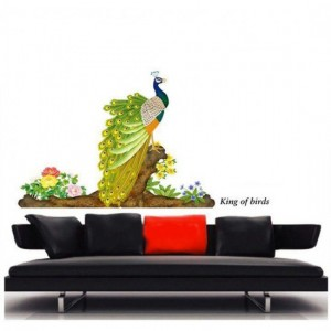 A Peacock Wall Sticker