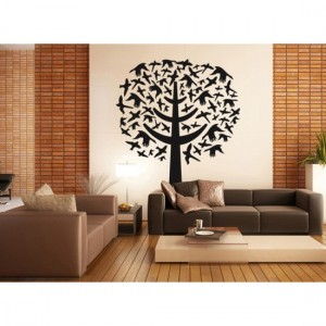 Black Bird Tree Sticker