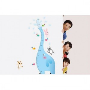 Blue Elephant Sticker