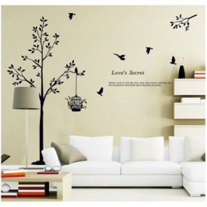 Love Secret Wall Sticker
