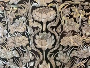 Mosaics Lotus With a Pearl