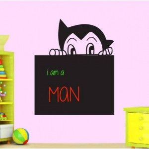 Boy Writable Wall Sticker