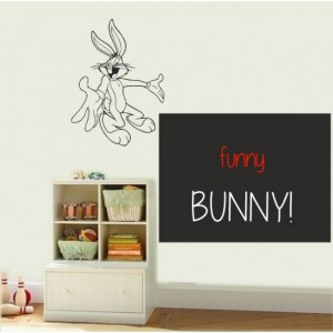 Bunny Writable Sticker