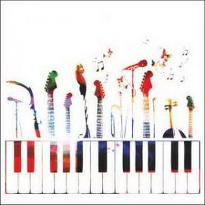 Colorful Music Instruments