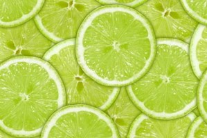 Green Lime Slices