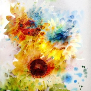 Expressive Sunflowers