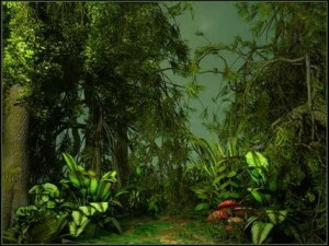 Green Jungle Scenery