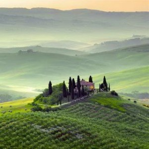 Early Morning on Tuscany