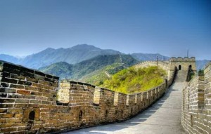 Hdr Image Great Wall in China