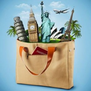 Bag of Famous Monument