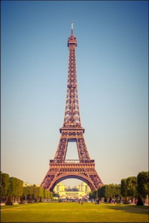 Eiffel Tower at Sunny Day