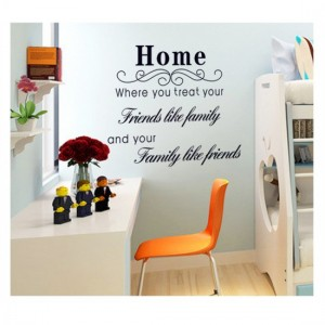 Home Wall Quote Sticker