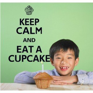Keep Calm and Eat a Cup Cake
