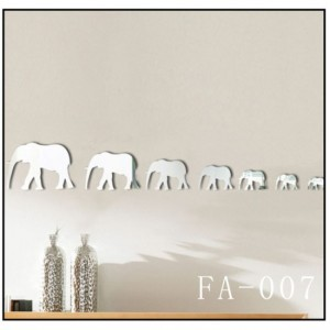 Elephant Mirror Sticker