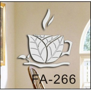 Coffee Cup Wall Sticker