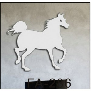 Stylish Horse Sticker