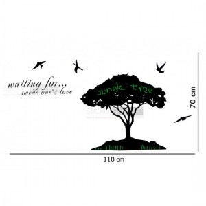 Tree With Birds Decals