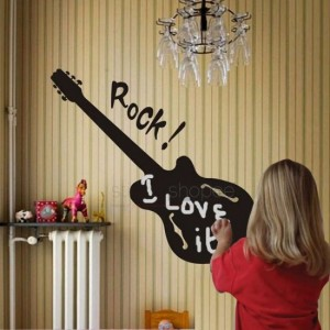 Rocking Guitar Decal