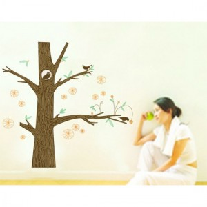 Tree Trunk Wall Sticker