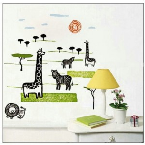 Kids Zoo Wall Sticker
