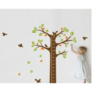Tree Scale Wall Sticker
