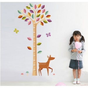 Height Tree Wall Sticker