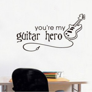 Guitar Hero Sticker